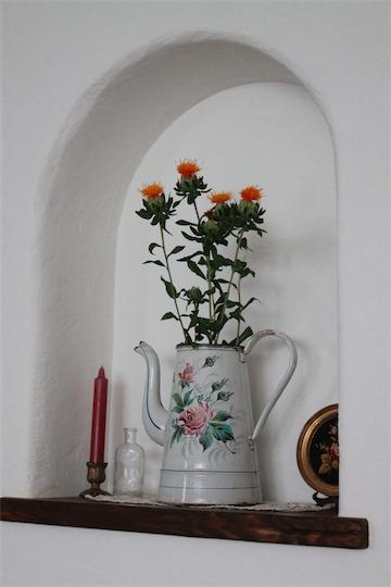薔薇柄のピッチャーがお嫁にいった先は・