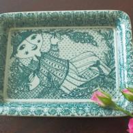 NYMOLLEの四角い飾り皿