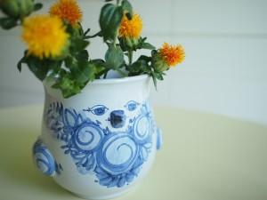 黄色のお花を飾ると・・