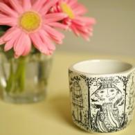 小鳥と少女の小さなカップ 1面