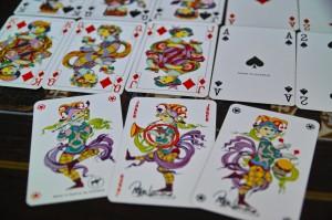 ビョルンビンブラッドデザイン ポーカートランプ 8