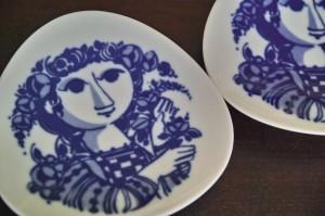 ドイツローゼンタールの小皿 1