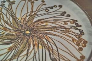ロイヤルコペンハーゲン BACAバッカシリーズ Ellen Malmarエレン マルマーデザインの飾り皿 大 1
