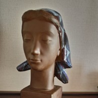 アルミニア窯の胸像