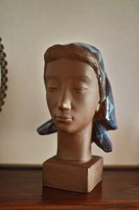 彫刻家Johannes Hedegaardの胸像 2