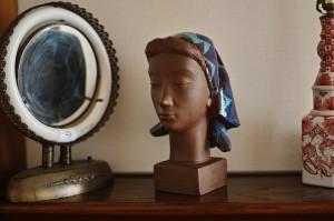 彫刻家Johannes Hedegaardの胸像 5