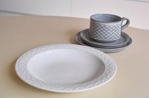 Jens.H.Quistgaard Cordialパターン スープボール ホワイト 3