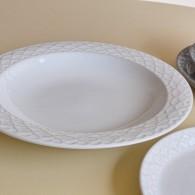 Jens.H.Quistgaard Cordialパターン スープボール ホワイト