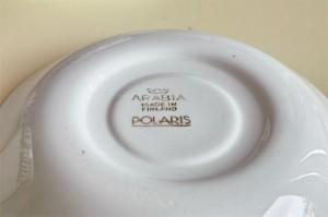 アラビア社 Arabia Of Finland  カップ&ソーサー POLARIS シリーズ 3
