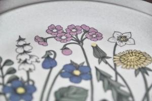 アラビア社 フローラ (Flora)シリーズ 25.5センチ 丸形大皿 5