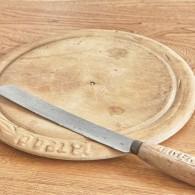 英国 ブレッドボードとブレッドナイフのセット