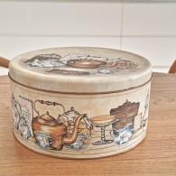 英国 Regency Ware レジェンシーウェアー社製 ケーキ缶