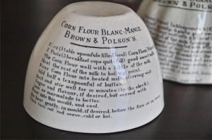 BROWN & POLSON'S 陶器モールド タイプ1