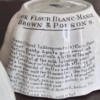 BROWN & POLSON'S 陶器モールド タイプ2