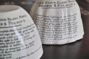 BROWN & POLSON'S 陶器モールド タイプ1 4