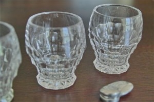 古い小さなグラス 3点セット 5