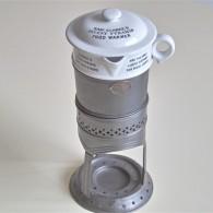 英国 GRIMWADE社製 離乳食を作られていたと言われています。陶器と金属のレアなセット。