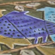 Lindberg製作 リサ・ラーソンデザイン 3匹のロビン(ヨーロッパコマドリ)