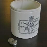 FRANK COOPER'S マーマレード販売用陶器 新しいタイプ