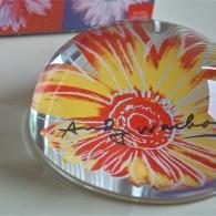 アンディ ワォーホール デザイン お花のペーパーウェイト ドイツ ローゼンタール studio line 製