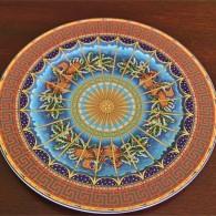 ドイツ ローゼンタール(Rosenthal)1999年度 クリスマスプレート 飾り用大皿プレート 1