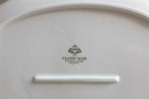 ドイツ ローゼンタール製 ビョルン・ヴィンブラッドデザイン ロマンスシリーズ 大きな白磁のオーバルプレート
