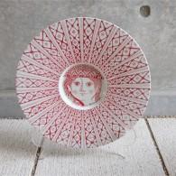 Bjørn (Bjorn) Wiinblad (ビョルン・ヴィンブラッドさん) 飾り皿 31㌢  デンマーク ニモール窯 Nymølle 3057-164 19