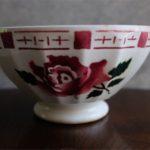アンティークカフェオレボウル その71 フランス SARREGUEMINES (サルグミンヌ)製 薔薇柄 16の記載
