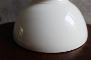 アンティークカフェオレボウル その65 「81」の表記 無地の特大サイズ