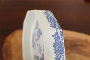 susanne i badet スザンナの沐浴  ビョルン・ビンブラッド デザイン NYMOLLE窯 デンマーク レアな10角プレート