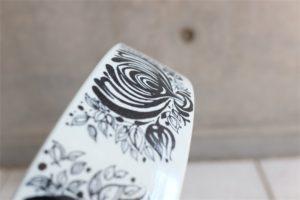 デンマーク NYMOLLE (ニモール窯) Bjorn Wiinblad (ヴョルン・ウィンブラッド/ビンブラッド)デザイン 大きなインテリアプレート